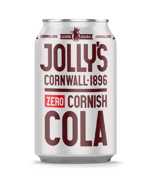 Jolly's Cornish Cola <sup>Zero</sup>