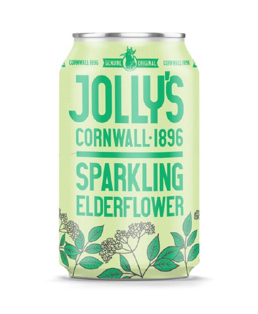 Jolly's sparkling elderflower