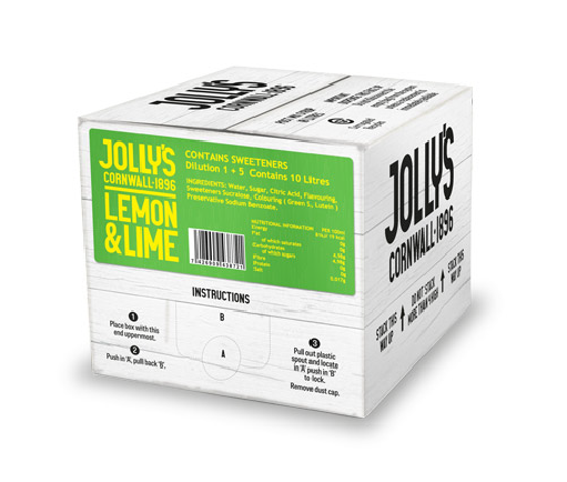 Jolly's Post Mix Lemon and Lime