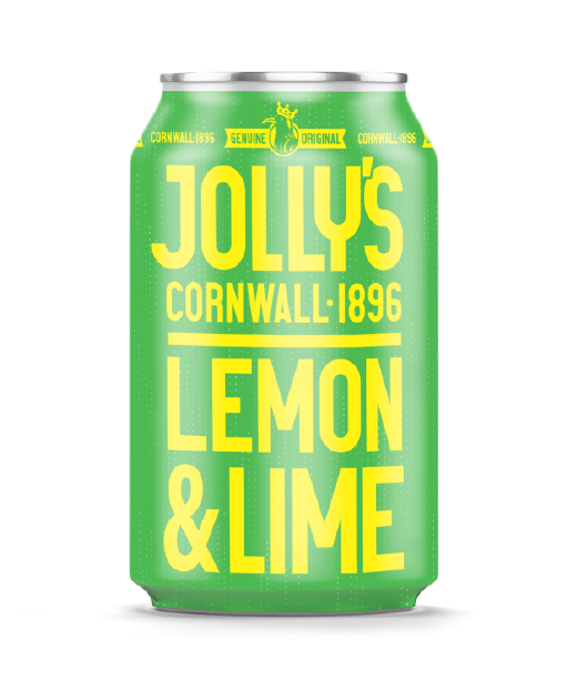 Jolly's Lemon and Lime canned soft drink