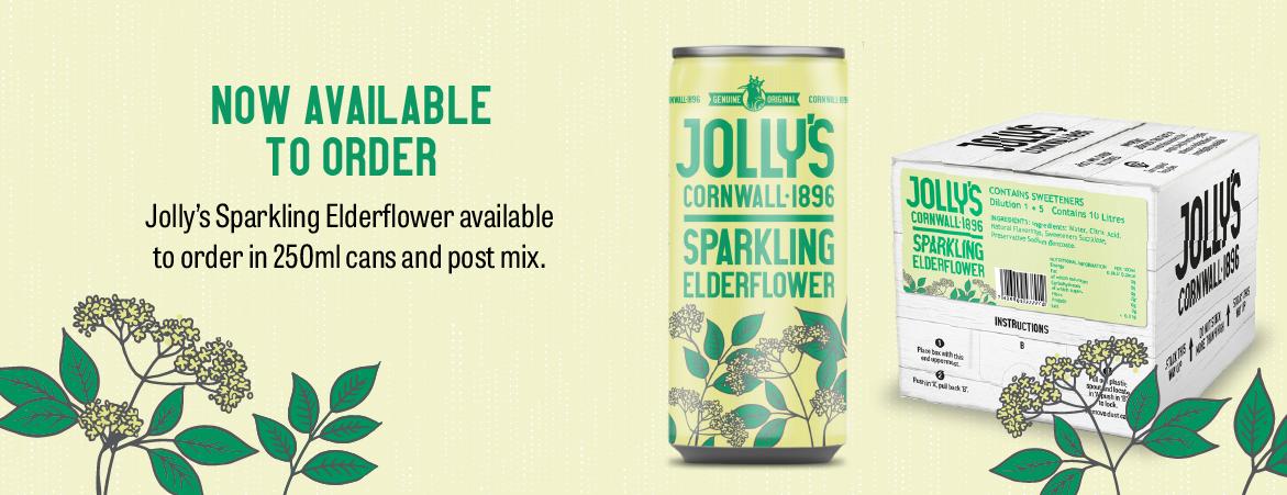 Jolly's Elderflower Can Drink