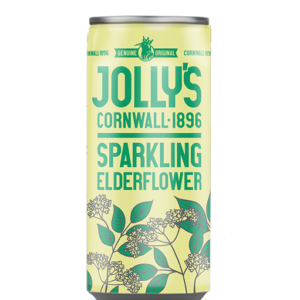 Jolly's Sparkling Elderflower drink