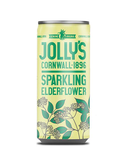 Jolly's Sparkling Elderflower drink